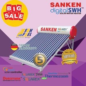 Sanken solar water heater SWH-PR300L(kapasitas 300 L)