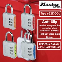Distributor Master Lock Gembok Kode Unique Design tipe 652DCOL 3