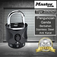 Distributor Master Lock Fixed Combination Padlocks tipe 2050XD 3