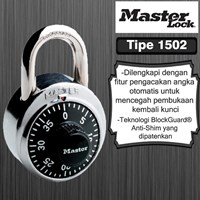 Distributor Master Lock Gembok Kode General Security Combination Padlocks tipe 1502D 3
