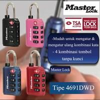 Distributor Master Lock Gembok Kode Tipe 4691DWD 3
