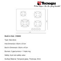 Distributor Tecnogas CG64G Kompor Luxury Hot 2018 3