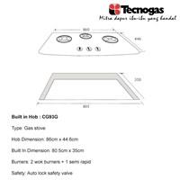 Distributor Tecnogas CG93G Kompor Premium 2018 3