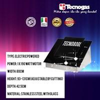 Tecnogas TECNO80GL Cooker Hood New 2018 1
