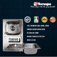 Jual Tecnogas TS801VD Kitchen Sink Premium 2018 2