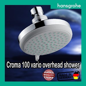 hansgrohe croma 100 vario overhead shower