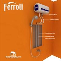 Jual Water Heater Electric - Blue [15 L] Ferroli QQ QTEM  2