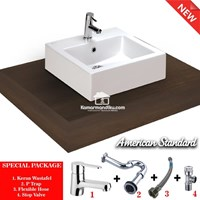 Sell  American Standard Special package Wastafel New MIZU 45 complet set 2