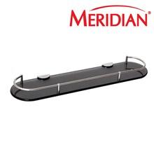 Meridian Flat R Glass Shelf (Aksesoris Kamar Mandi) AJ-3348 BLR