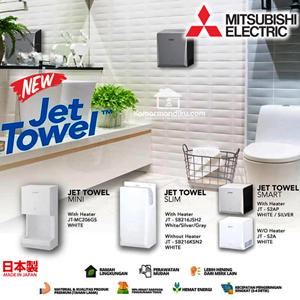Mitsubishi Jet towel hand dryer pengering Tangan Asli Japan