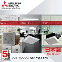 Mitsubishi Ceiling Exhaust Fan EX25SC5T  10 inch Asli Japan 1