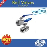 Ball Valve Q 1/2 F 1