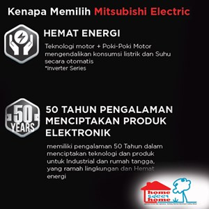 Dari Mitsubishi AC MS/MUY-JP10VF-NE1 Smart Inverter  2