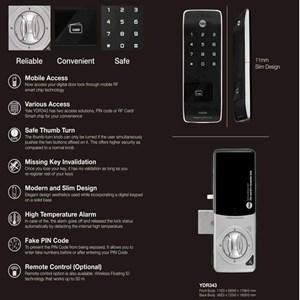 Dari YALE YDR 343 Digital Door Lock 3 Mode 3