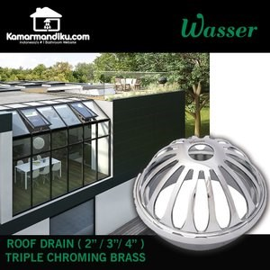 Dari Wasser Roof Drain WRD-030 Saringan Atap Dak Beton Talang ASLI 3 Inch 0