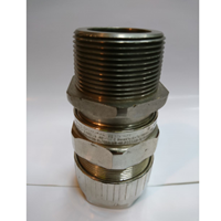Cable Gland Hawke Brass Nickel Plated 501-453 RAC 1 0.5 mm NPT (C2 D)
