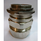 Cable Gland Hawke Brass Nickel Plated 501-453 RAC F M75 1