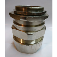 Cable Gland Hawke Brass Nickel Plated 501-453 RAC F M75