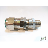 Cable Gland CMP Brass Nickel E1FX M20
