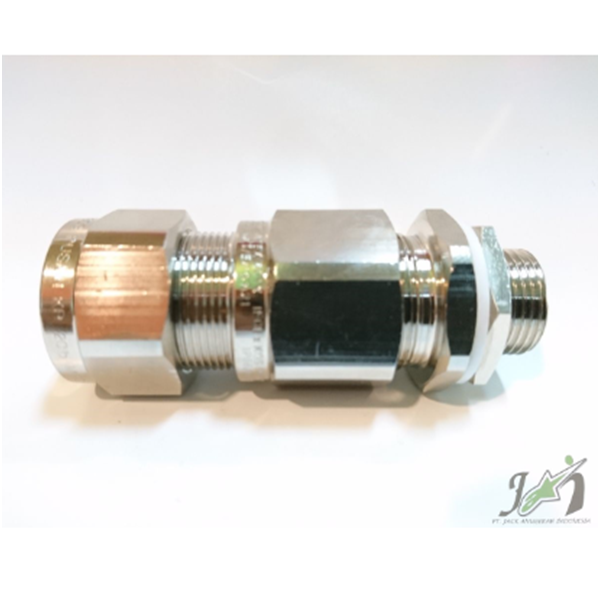 Cable Gland OSCG Brass Nickel M 20b