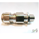 Cable Gland OSCG Brass Nickel NPT 1/2 Inch 20B 1