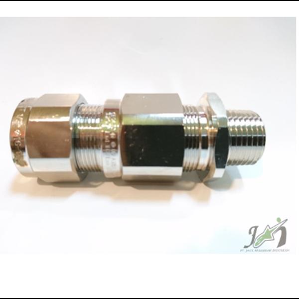 Cable Gland OSCG Brass Nickel NPT 1/2 Inch 20B
