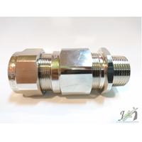 Cable Gland OSCG Brass Nickel NPT 3/4 Inch 25B