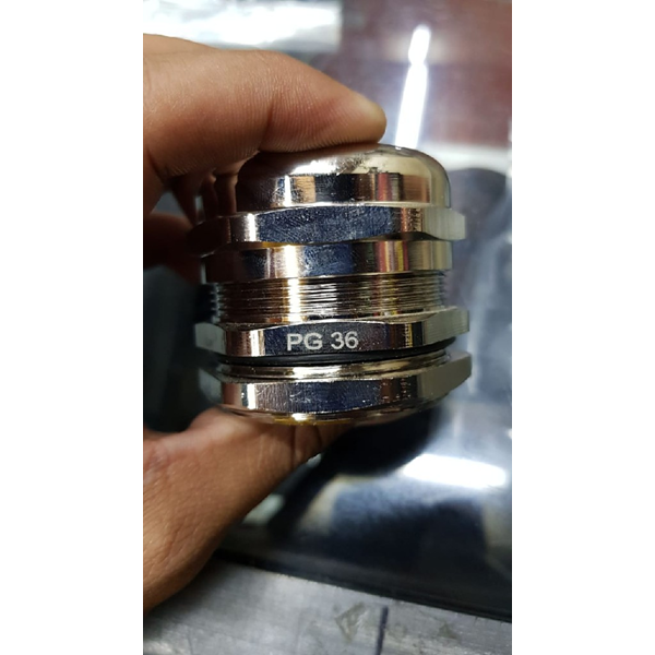 Cable Gland PG Brass Nickle