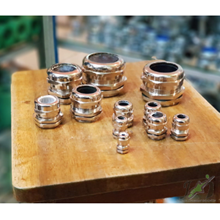 Cable Gland PG Brass Nikel Plated
