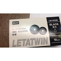 Ink Ribbon 50 Black Max Letatwin LM 550A