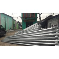 Tiang Lampu Tenaga Surya 7M Single Arm