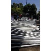 Distributor Tiang Lampu Jalan 7M single parabol 3