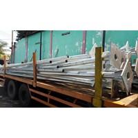 Distributor Tiang Lampu Bulat PLTS 3