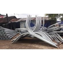 Okatgonal Double Parabol PJU Poles