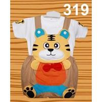 Beli Setelan Baju Kodok Anak Karakter Tiger Dasi 4