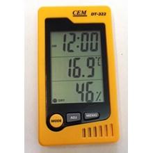 CEM DT-322 Interior Temperature Hygrometer