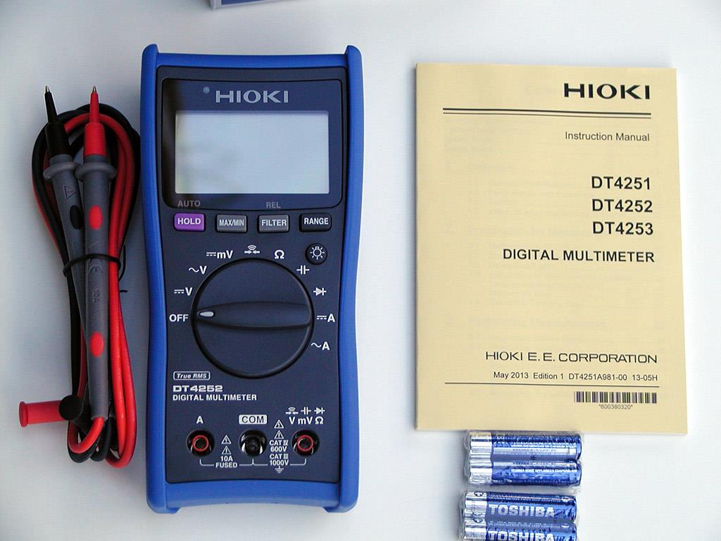 Sell Hioki DT4252 Digital Multimeter from Indonesia by Toko Asia  Industri,Cheap Price