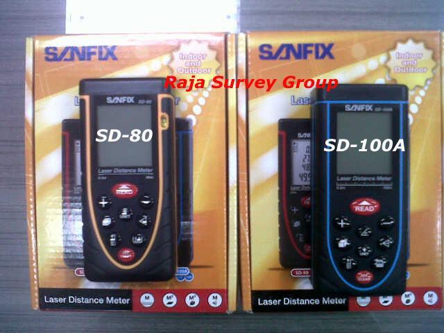 Jual sanfix sd 80 laser distance meter harga murah kota tangerang