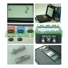 LUTRON PM-9100 MANOMETER 7000 Mbar Differential Input