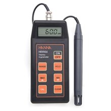 HANNA HI 9564 Thermohygrometer With Calibration Data-Logging Probe