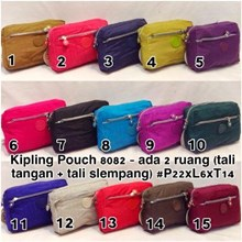 Place cosmetic (cosmetic case) Kipling models: 8082P (plain)