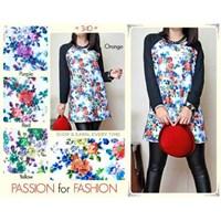 Baju Atasan Wanita Bermotif Bunga (2)   1