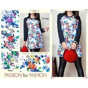 Baju Atasan Wanita Bermotif Bunga (2)