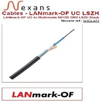 Jual Nexans Kabel Optik LANmark OF UC 4x Multimode LSZH Black