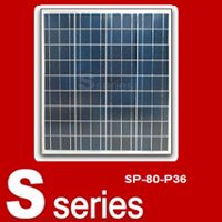 Panel Tenaga Surya SP-80-P36 Sseries ( 80 Watt )