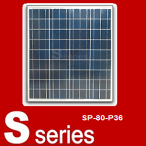 Panel Tenaga Surya SP-80-P36 Sseries ( 80 Watt )