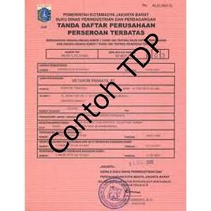 URUS TDP (Tanda Daftar Perusahaan) By PT  Legalitas Sarana Izin