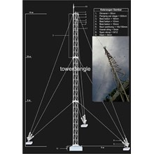 Antena Digital Tower Tri angle
