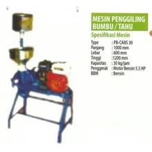 Mesin Penggiling Bumbu atau Tahu