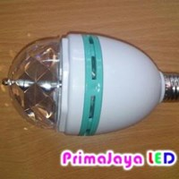 Bulb Revolving disco LED RGB